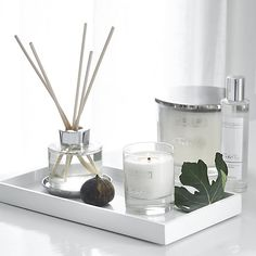 Shop the White Company Candles & Fragrance collection. Bathroom Candles, Bathroom Counter Decor, White Company Candles, The White Company, Buy Candles, Luxury Candles, White Candles, Bathroom Accessories Luxury, Home Decor Accessories