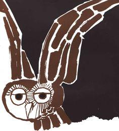 Vintage Kids' Books My Kid Loves: A Book of Various Owls John Hollander-Tomi Ungerer Owl Bird, Bird Art, Pet Birds, Vintage Children's Books, Vintage Kids, Cute Owl, Children's Book Illustration, Art Plastique, Illustrations Posters