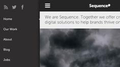Popular Web Design Trends for Responsive Navigation - Treehouse Blog  #navigation #responsive #web