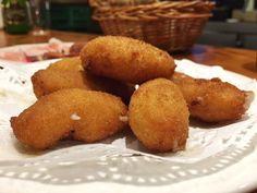 Croquetas de casa #casatrabanco #llagar #lavandera #cocinatradicional #producto #km0 #dealdea