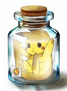 You'd think that this is chibi but this pikachu's owner locked him in there because he hated the pikachu Pichu Pikachu Raichu, Art Pikachu, Pikachu Drawing, Pokemon Comics, Pokemon Memes, Pokemon Fan, Cute Pokemon Pictures, Cute Pictures, Pikachu Mignon
