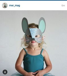 mouse cardboard mask