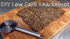 DIY Low Carb Brot selber machen - Knäckebrot schnell und einfach   Selfmade Low Carb Crispbread - YouTube