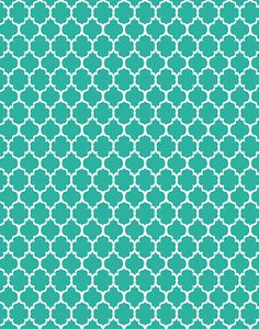 polka dot  free printable coral and teal | Freebie digi Patterns backgrounds: polka dots, moroccan, quatrefoil ...