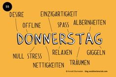 """""""Happy Donnerstag!"""""""