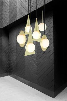 Aydınlatma ve Dekor Dünyasından Gelişmeler: Tom Dixon'dan Geometrik Şekilli Plane Aydınlatma  #aydinlatma #lighting #design #tasarim #dekor #decor