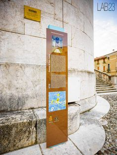WAYFINDING TOTEM is a street furniture display board, made in Italy, of collection characterized by a modern style and materials of great quality. The display board is in steel and suits perfectly any public space. City Information, Street Furniture, Display, Modern, Products, Billboard, Gadget