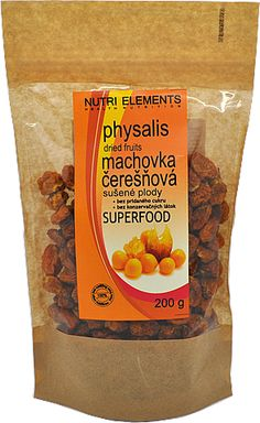 Physalis - machovka čerešňová