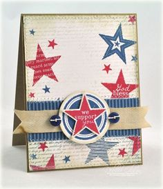 We Support You Card by Debbie Olson for Papertrey Ink (June 2012)