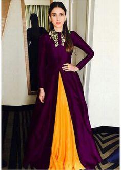 Bollywood Replica - Aditi Rao Hydari Fancy Purple Gown24CA108-11020E