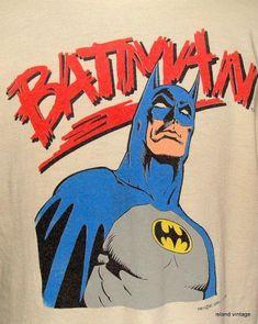 Vintage Batman DC comics t shirt XL Batman 2, Batman Comics, Anime Comics, Vintage Comic Books, Vintage Comics, Dc Comics T Shirts, Female Avatar, Bruce Banner, Dark Ages