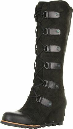 2759866ded4 Sorel Women s Black Joan Of Arctic Wedge
