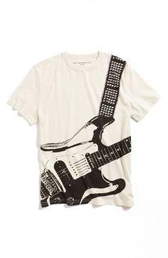 John Varvatos Star USA 'Guitar' T-Shirt (Boys)   Nordstrom