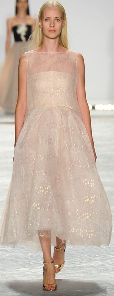 Monique Lhuillier Ready To Wear Spring 2014