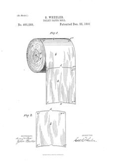 Yes there is a correct way to hang toilet paper toilet paper toilet paper patent correct way to use toilet paper malvernweather Image collections