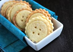 Butter Buttons.....Cookies - I love butter cookies!