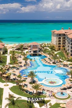 The Best All-inclusive Family Resorts Best All Inclusive Vacations, Best Family Vacations, Family Travel, Turks And Caicos Resorts, Beach Resorts, Beaches Turks, Mexico Vacation, Travel And Leisure, The Best