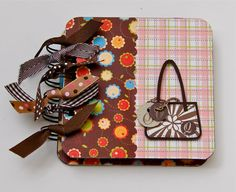 Fancy Bag Notepad by LaPetiteNote on Etsy
