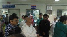 Press Note:-   શેઠ વી.એસ. હોસ્પિટલમાં મેયોર શ્રી Gautam Shah એ રાત્રીએ આકસ્મિક રાઉન્ડ લેતા જોવા મળેલી ક્ષતિઓ સામે લીધેલા પગલાં
