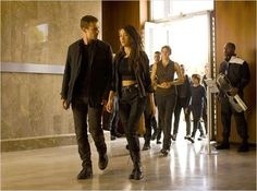 Divergente 2 : l'insurrection : Photo Maggie Q, Shailene Woodley, Theo James