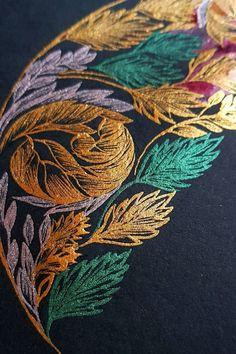 Calligraphy art hand drawn logo with black and gold Watercolor Artwork, Watercolor Illustration, Floral Watercolor, Watercolour, Hand Drawn Lettering, Lettering Design, Illustrated Wedding Invitations, Vintage Logo Design, Unique Logo