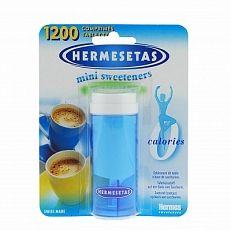 Hermesetas Tabletten Original Drukknop Doos 1200tabl