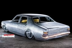 Chris Willett's full-custom-chassis Holden HT Kingswood is being built to order from raw materials Australian Muscle Cars, Aussie Muscle Cars, Grease Monkey Garage, Holden Monaro, Holden Commodore, Drag Cars, Rear View, Hot Cars, Custom Cars
