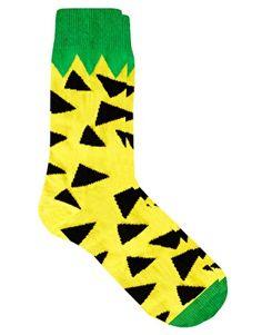 Image 1 ofLazy Oaf Pineapple Socks