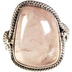 Beautiful Cocktail Ring In Blush Stone