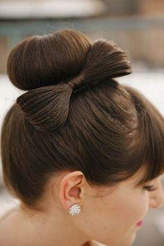 nice Красивая прическа бант на длинные волосы (50 фото) — Инструкция пошагово