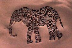 Tribal Elephant Tattoo Design For Guys Tribal Elephant Drawing, Elephant Tattoo Design, Tattoo Elephant, Tattoo Drawings, Body Art Tattoos, Tribal Tattoos, Trendy Tattoos, Cool Tattoos, Tatoos