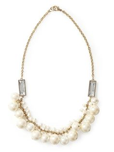Pearl Necklace, $38 from Piperlime