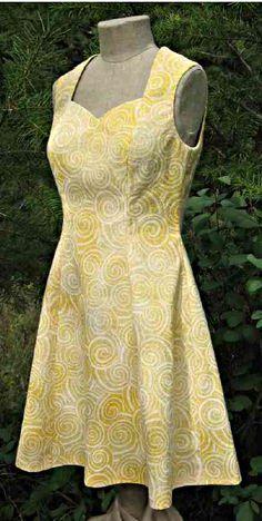 Patron gratuit robe rockabilly tuto couture pinterest for Robes de mariage en consignation seattle