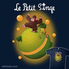 Le Petit Singe #anime #ape #dragonball #dragonballz #lepetitprince #oozaru #skullpy #thelittleprince #tvshow