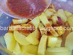 Cartofi cu cimbru la cuptor   Rețete BărbatLaCratiță Fruit Salad, Food And Drink, Fruit Salads