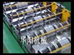steel deck floor making machine, bearing plate forming machine