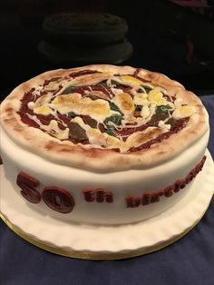Pizza cake any one??
