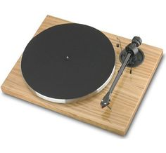 Xpression Carbon Classic Turntable With Sumiko Pearl Cartridge Olive Wood