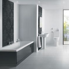 Order modern bathroom suites online from BigBathroomShop today. Choose from a range luxury contemporary bathroom suite range - free UK delivery available. Complete Bathrooms, Dream Bathrooms, Contemporary Bathrooms, Modern Bathroom, Simple Bathroom Designs, Home Accessories, New Homes, House Design, Luxury