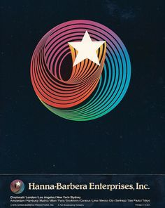 Hanna-Barbera logo- can you still recall the sound of that star spinning around when you see the logo?