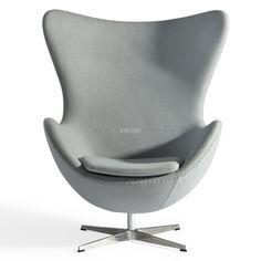 Ontworpen in 1958 was de EGG CHAIR een klassiek voorbeeld van het werk van Arne Jacobsen en is de inspiratie voor onze retro reproductie EGG CHAIR, waarmee we hulde brengen aan deze innovatieve en vooruitstrevende ontwerper. Hij is vooral bekend in de modernistische vormgeving kringen voor zijn eclectische collectie van stoelen, die werden beschouwd als zijn fundamentele zoektocht in het zoeken naar perfectionisme. Continu de grenzen verlegend van wat werd beschouwd als esthetisch lijn…