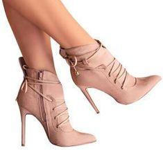 High Heels Ankle Booties