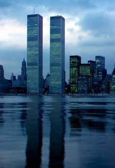 World Trade Center Twin Towers!  Gone but not forgotten! We will never forget!!