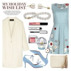 """The Holiday Wish List With Neiman Marcus: Contest Entry"" by pearlparadise ❤ liked on Polyvore featuring RED Valentino, Donna Karan, Chico's, Neiman Marcus, Bobbi Brown Cosmetics, Aquazzura and House of Sillage"