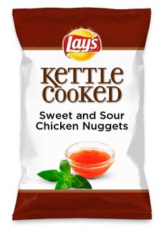 Wouldn't Sweet and Sour Chicken Nuggets be yummy as a chip? Lay's Do Us A Flavor is back, and the search is on for the yummiest flavor idea. Create a flavor, choose a chip and you could win $1 million! https://www.dousaflavor.com See Rules.