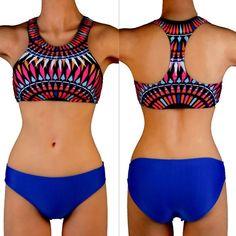 Swimwear Woman Fashion Neoprene Bikinis Women Summer Swimsuit Bath Suit Push Up Bikini set Bathsuit Biquini