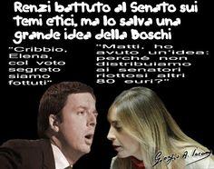 Senato: la grande idea della ministra Boschi
