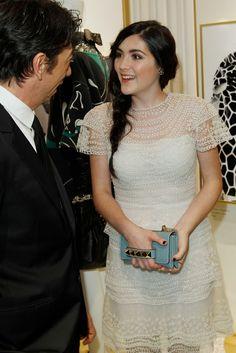 Isabelle Fuhrman in Valentino.