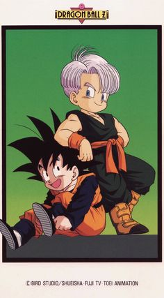 Goten y Trunks Manga Anime, Anime Art, Dragon Ball Gt, Goten E Trunks, Foto Do Goku, Manga Dragon, Anime Love, Fan Art, Cartoon