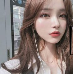 Find images and videos about girl, fashion and pretty on We Heart It - the app to get lost in what you love. Pretty Korean Girls, Cute Korean Girl, Cute Asian Girls, Korean Beauty, Asian Beauty, Mode Kpop, Ulzzang Makeup, Ulzzang Korean Girl, Korean Ootd
